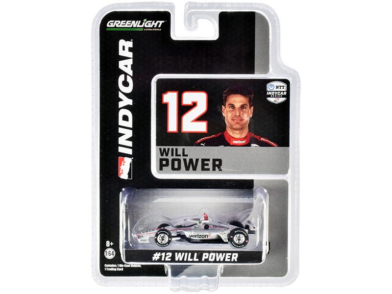 Dallara IndyCar #12 Will Power Verizon Team Penske NTT IndyCar Series 2020 1/64 Diecast Model Car Greenlight 10869