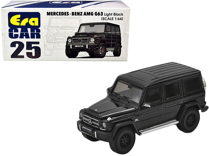 Mercedes Benz AMG G63 Light Black 1/64 Diecast Model Car Era Car MB204X4RN25