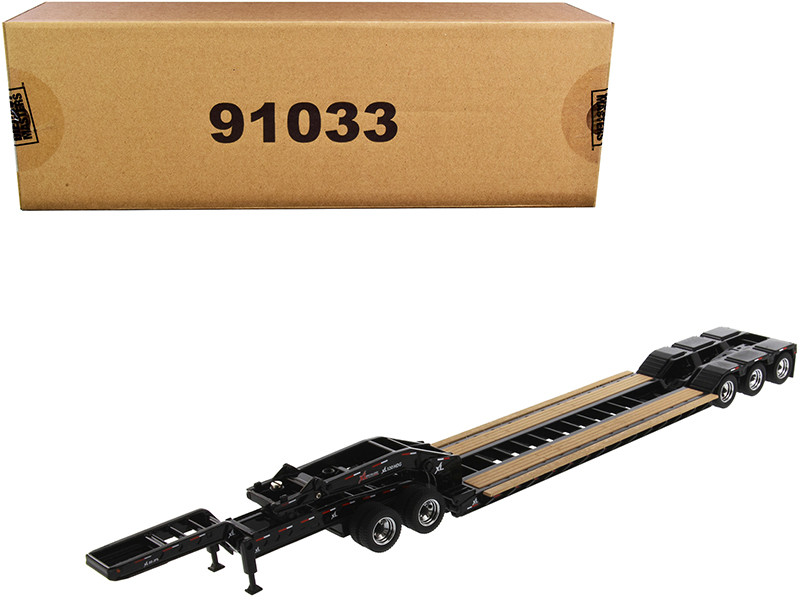 XL 120 Low-Profile HDG Outrigger Style Trailer Jeep 2 Boosters Transport Series 1/50 Diecast Model Diecast Masters 91033