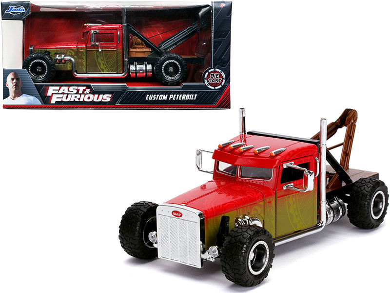 Custom Peterbilt Tow Truck Fast & Furious Series 1/24 Diecast Model Jada 32089