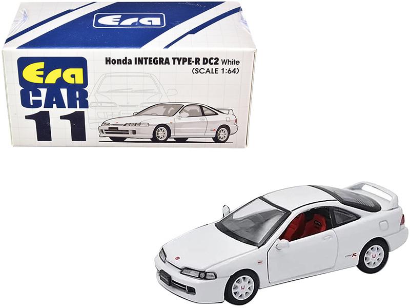 Honda Integra Type-R DC2 White 1/64 Diecast Model Car Era Car HA20DC2RN11
