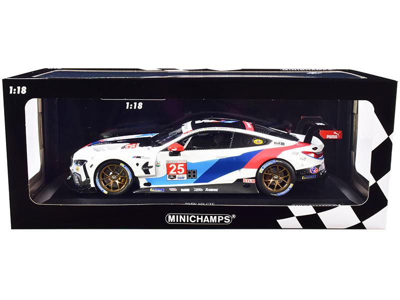 BMW M8 GTE #25 DePhillippi Farfus Herta Eng BMW Team RLL Class Winners 24 Hours of Daytona 2019 1/18 Diecast Model Car Minichamps 155192925