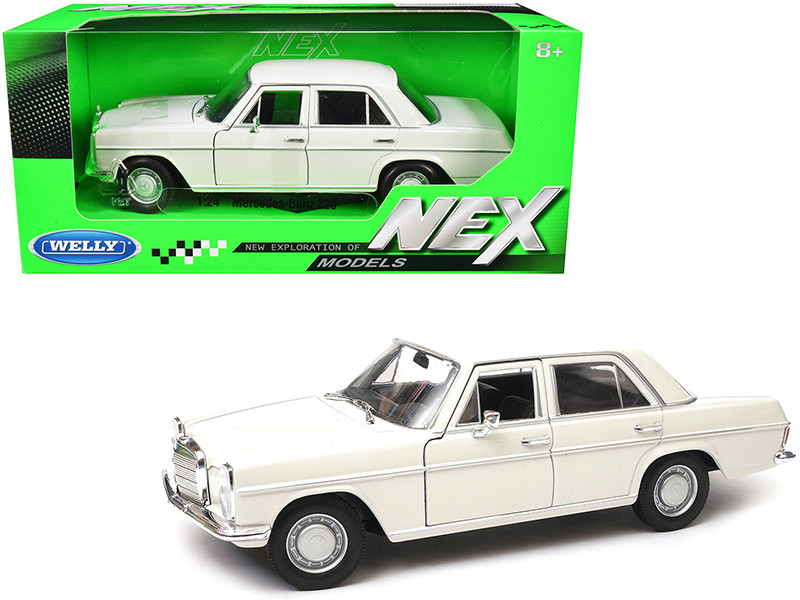 Mercedes Benz 220 Cream NEX Models 1/24 Diecast Model Car Welly 24091