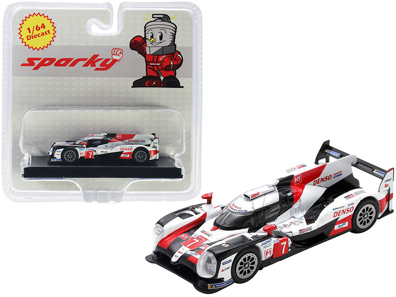 Toyota TS050 Hybrid #7 Toyota Gazoo Racing 2nd 24 Hours of Le Mans 2019 1/64 Diecast Model Car Sparky Y138B