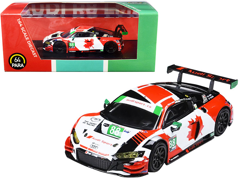 Audi R8 LMS #88 WRT Speedstar Daytona 24 Hours 2019 1/64 Diecast Model Car Paragon PA-55252