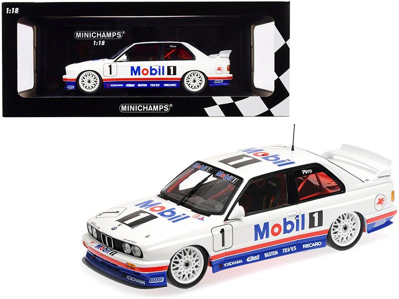BMW M3 #1 Emanuele Pirro BMW M-Team Schnitzer Winner Macau Guia Race 1992 Limited Edition 300 pieces Worldwide 1/18 Diecast Model Car Minichamps 155922001