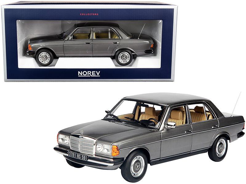 1982 Mercedes Benz 200 Anthracite Gray Metallic 1/18 Diecast Model Car Norev 183713