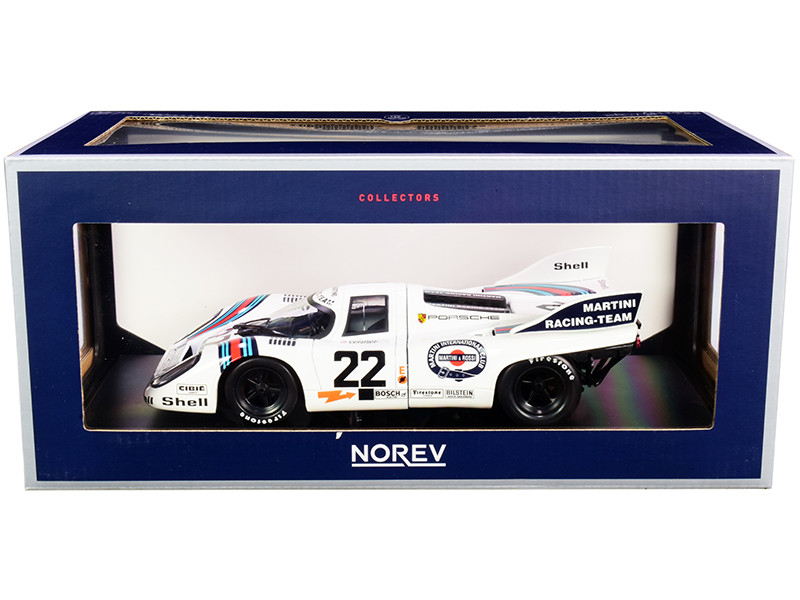 Porsche 917K #22 Helmut Marko Gijs van Lennep Winner 24 Hours of Le Mans 1971 1/18 Diecast Model Car Norev 187588