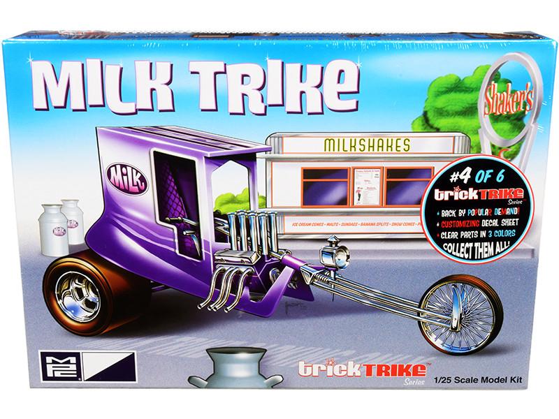 Skill 2 Model Kit Milk Trike Trick Trikes Series 1/25 Scale Model MPC MPC895