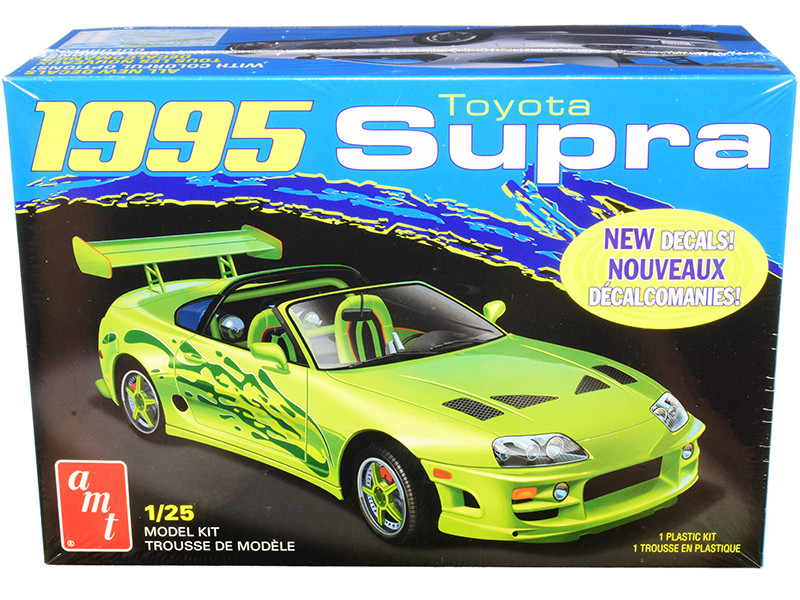 Skill 2 Model Kit 1995 Toyota Supra Convertible 1/25 Scale Model AMT AMT1101 M