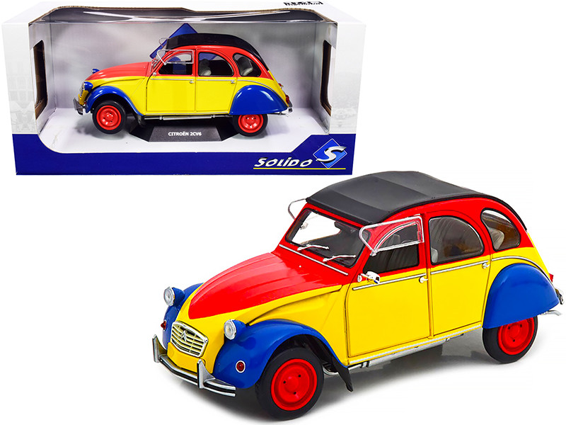 1985 Citroen 2CV6 Anisee Ricard 1/18 Diecast Model Car Solido S1805011