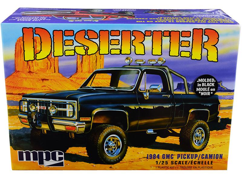 Skill 2 Model Kit 1984 GMC Pickup Truck Deserter 1/25 Scale Model MPC MPC848 M