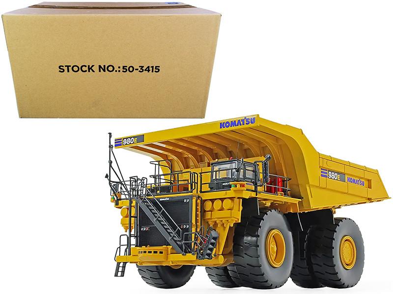 Komatsu 980E-AT Dump Truck 1/50 Diecast Model First Gear 50-3415