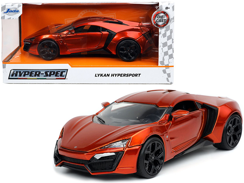 Lykan Hypersport Copper Hyper-Spec 1/24 Diecast Model Car Jada 32278