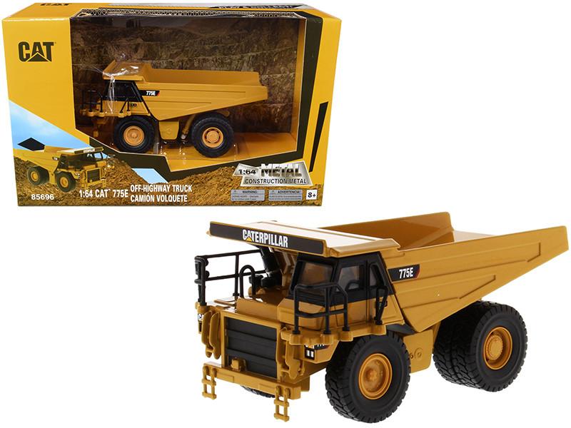 CAT Caterpillar 775E Off-Highway Dump Truck Play & Collect 1/64 Diecast Model Diecast Masters 85696