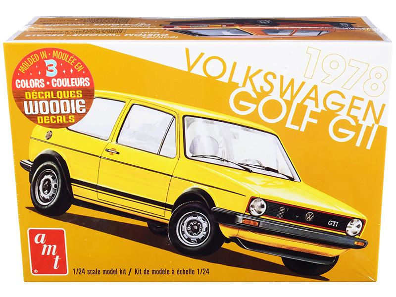 Skill 2 Model Kit 1978 Volkswagen Golf GTI 1/24 Scale Model AMT AMT1213 M