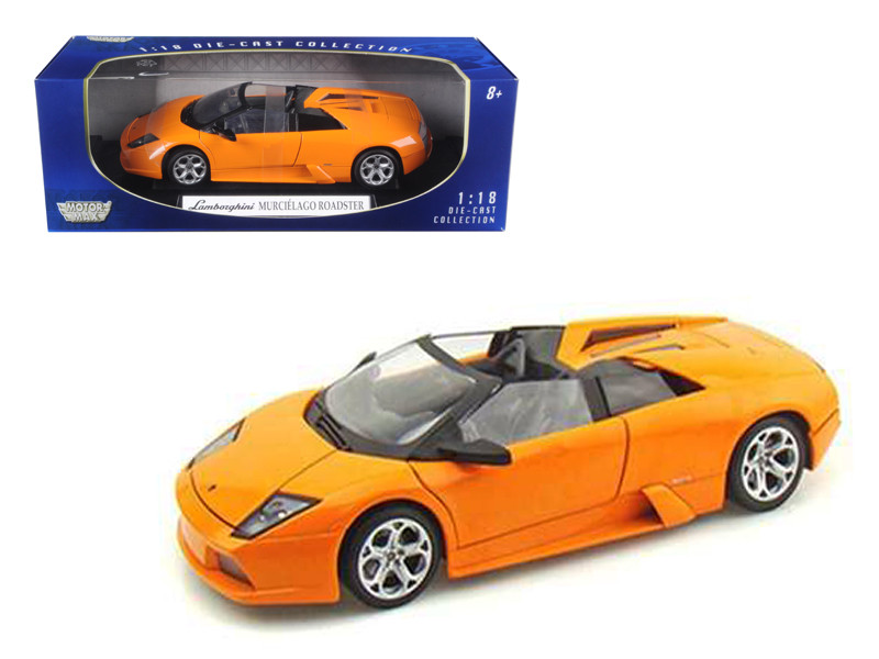 Lamborghini Murcielago Roadster Orange 1/18 Diecast Model Car Motormax 73169