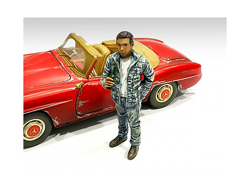 Auto Mechanic Hangover Tom Figurine 1/18 Scale Models American Diorama 76260