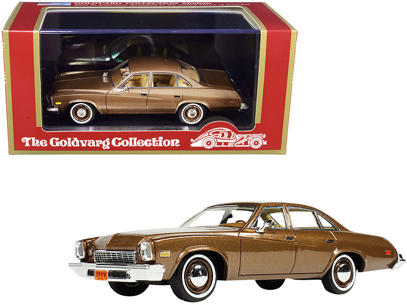 1974 Buick Century Nutmeg Brown Metallic Limited Edition 240 pieces Worldwide 1/43 Model Car Goldvarg Collection GC-048 A
