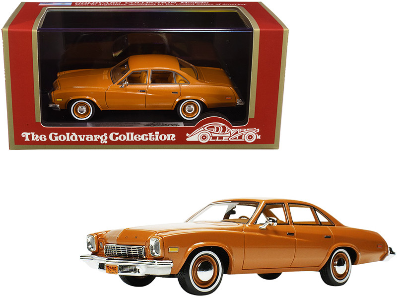 1974 Buick Century Ginger Brown Metallic Limited Edition 220 pieces Worldwide 1/43 Model Car Goldvarg Collection GC-048 B