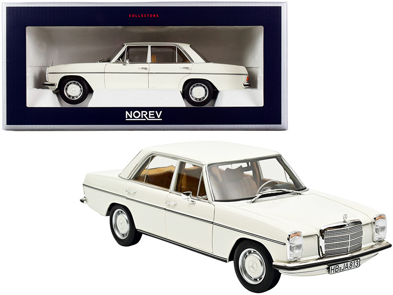 1968 Mercedes Benz 200 White 1/18 Diecast Model Car Norev 183770