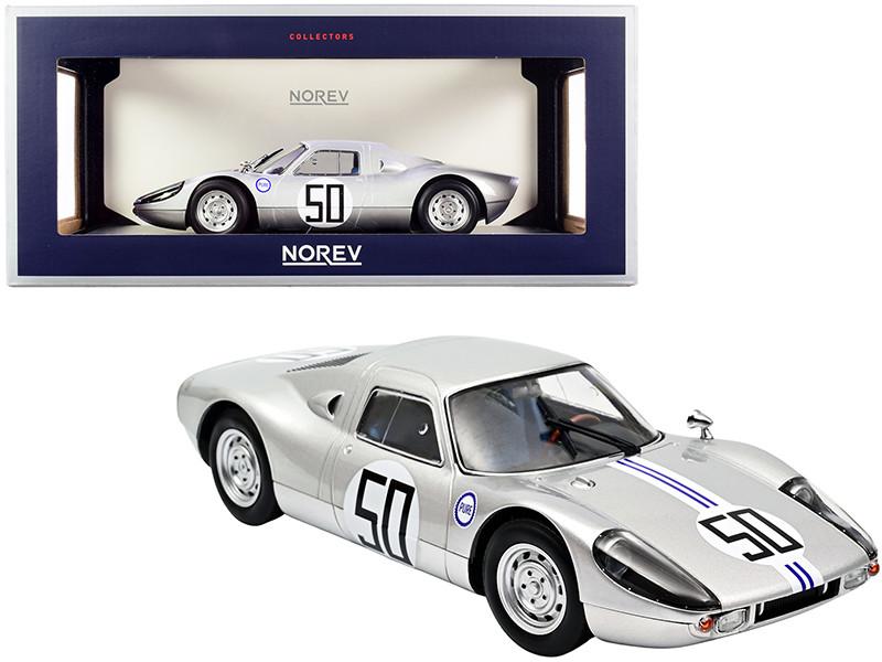 Porsche Carrera 904 GTS #50 Chuck Cassel American Challenge Cup 1964 1/18 Diecast Model Car Norev 187442