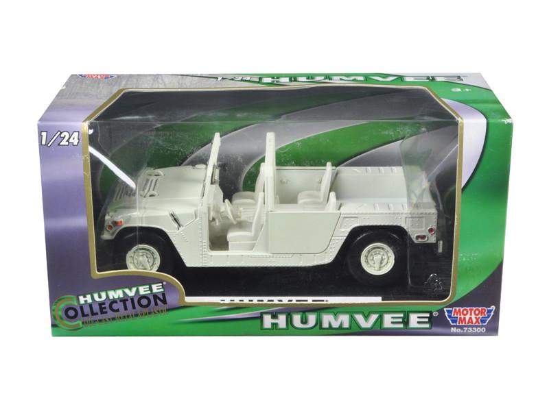Humvee Military Base Platform Tan 1/24 Diecast Car Model Motormax 73296