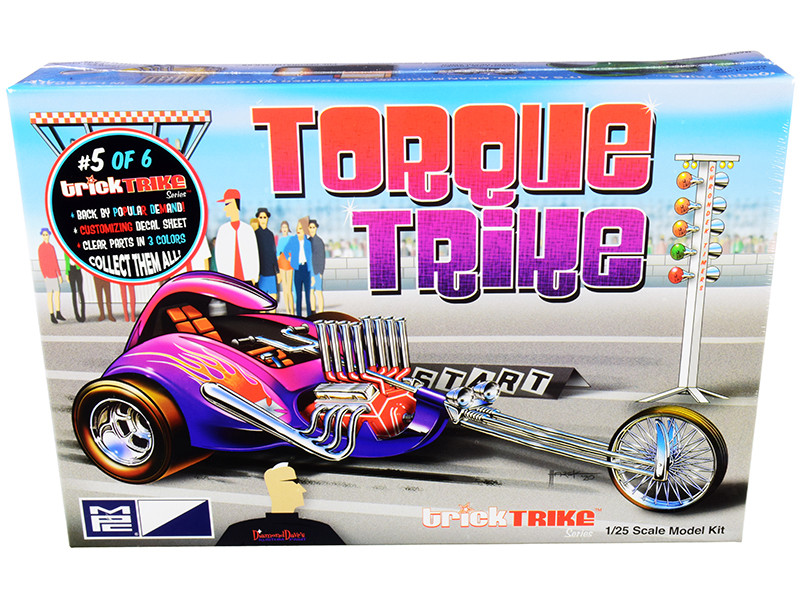 Skill 2 Model Kit Torque Trike Trick Trikes Series 1/25 Scale Model MPC MPC897