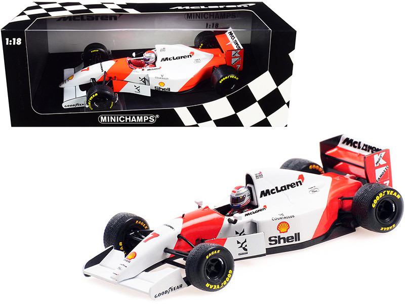 McLaren Ford MP4/8 #7 Michael Andretti Shell Oil Formula One F1 European Grand Prix 1993 Limited Edition 300 pieces Worldwide 1/18 Diecast Model Car Minichamps 530931827