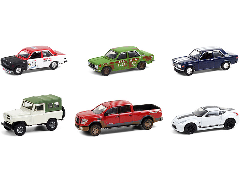 Tokyo Torque Set of 6 pieces Series 9 1/64 Diecast Model Cars Greenlight 47070