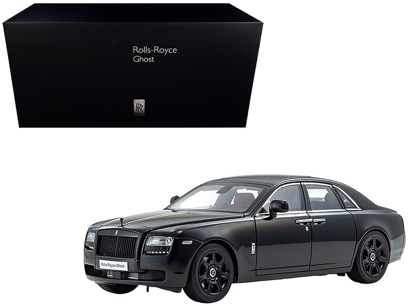 Rolls Royce Ghost Diamond Black 1/18 Diecast Model Car Kyosho 08802 DBK