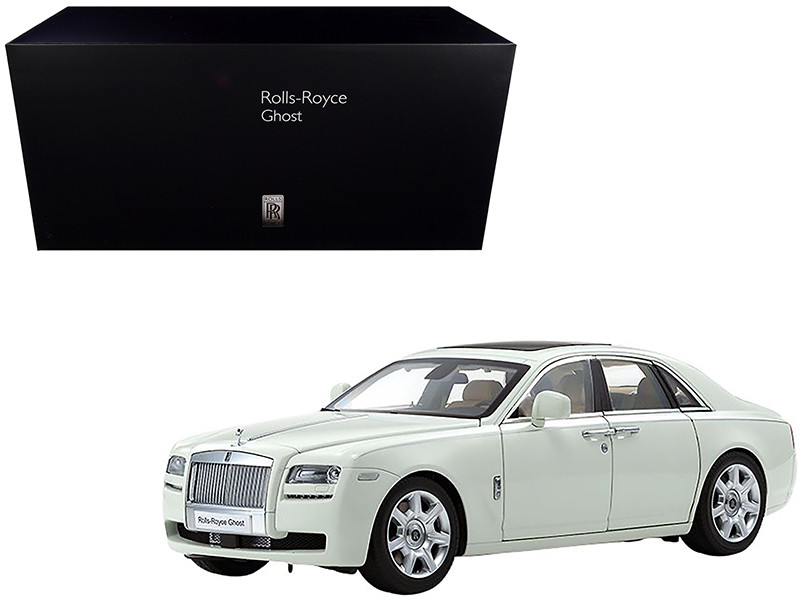 Rolls Royce Ghost English White 1/18 Diecast Model Car Kyosho 08802 EW