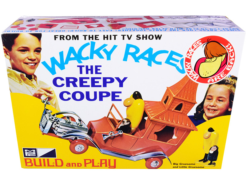 Skill 2 Snap Model Kit The Creepy Coupe Big Gruesome Little Gruesome Figurines Wacky Races 1968 TV Series 1/25 Scale Model MPC MPC936