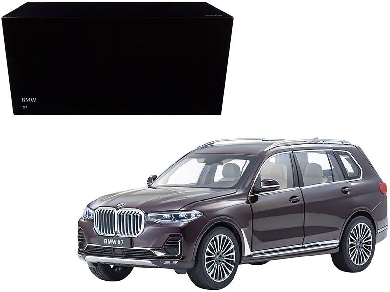 BMW X7 Ametrin Purple Metallic 1/18 Diecast Model Car Kyosho 08951 AM