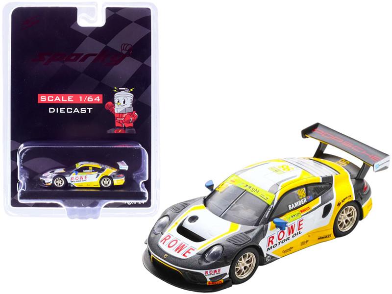 Porsche 911 GT3 R #98 Earl Bamber ROWE Racing 3rd FIA GT World Cup Macau 2019 1/64 Diecast Model Car Sparky Y167B