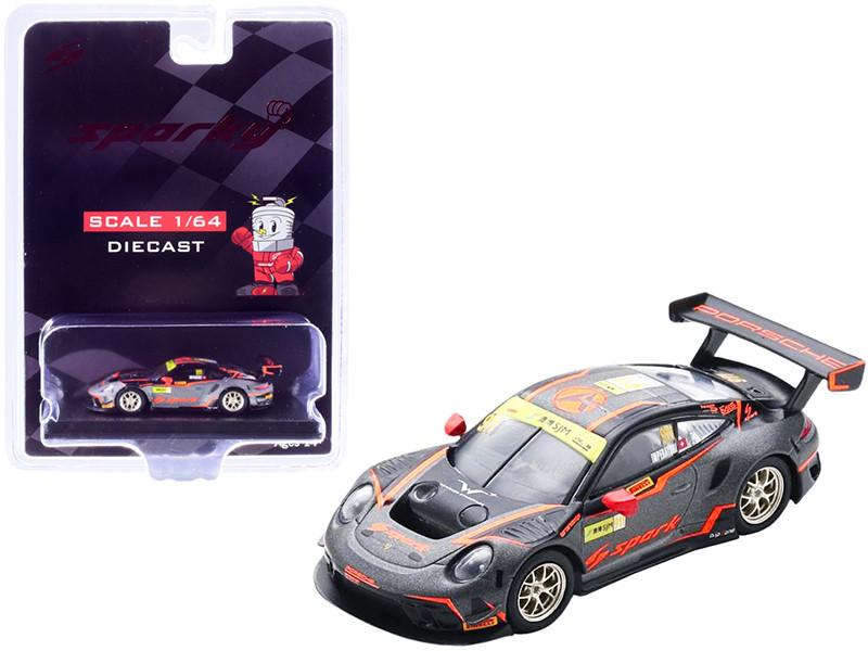 Porsche 911 GT3 R #911 Alexandre Imperatori Absolute Racing FIA GT World Cup Macau 2019 1/64 Diecast Model Car Sparky Y172B