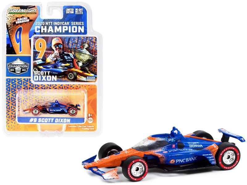 Dallara IndyCar #9 Scott Dixon Champion PNC Bank Chip Ganassi Racing NTT IndyCar Series 2020 1/64 Diecast Model Car Greenlight 10889
