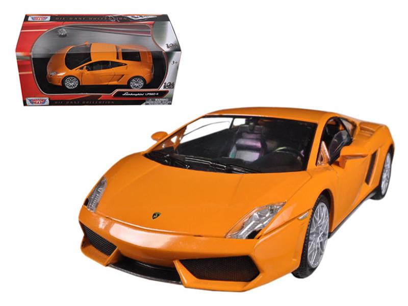 Lamborghini Gallardo LP-560-4 Orange 1/24 Diecast Model Car Motormax 73362