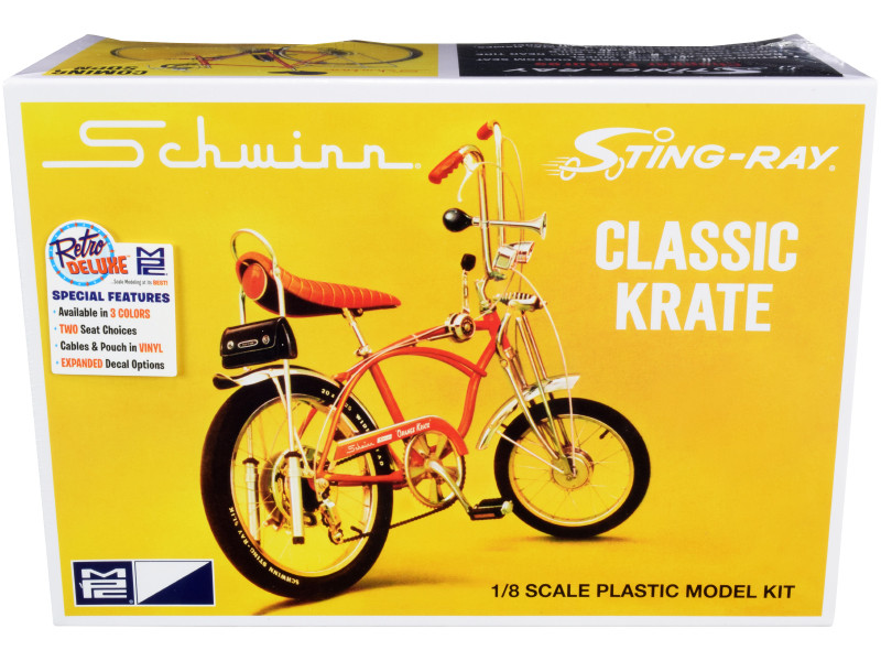 Skill 2 Model Kit Schwinn Sting-Ray 5-Speed Bicycle Classic Krate 1/8 Scale Model MPC MPC914