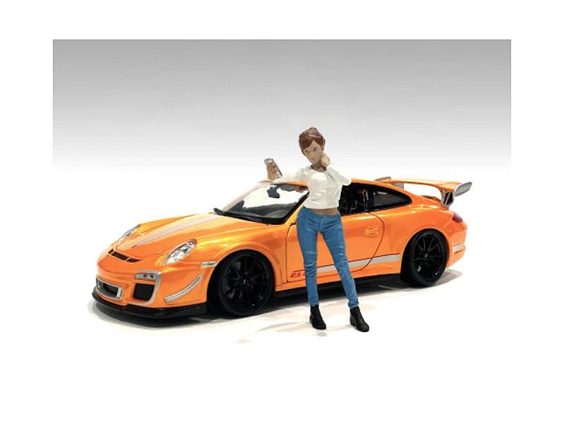 Car Meet 1 Figurine I 1/24 Scale Models American Diorama 76377