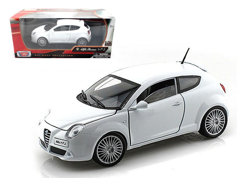 Alfa Romeo Mito White 1/24 Diecast Car Model Motormax 73371