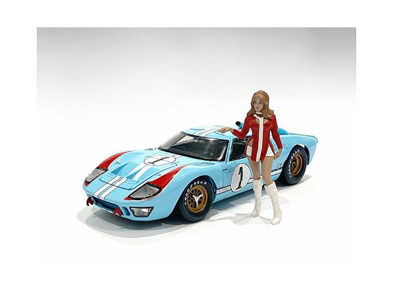 Race Day 2 Figurine V 1/18 Scale Models American Diorama 76299
