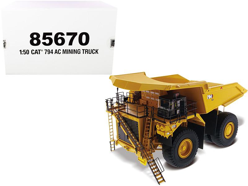 CAT Caterpillar 794 AC Mining Truck High Line Series 1/50 Diecast Model Diecast Masters 85670