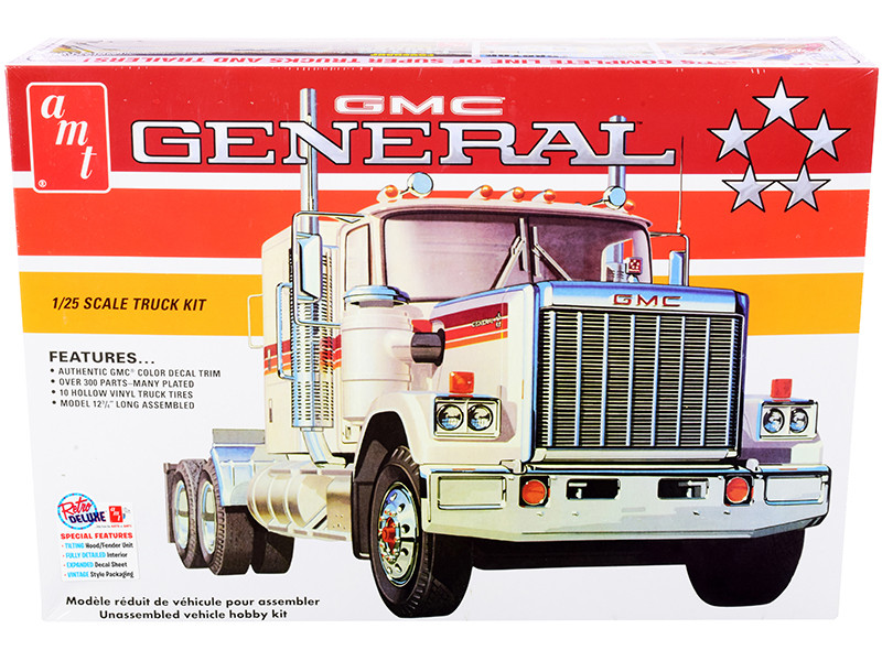 Skill 3 Model Kit GMC General Truck Tractor 1/25 Scale Model AMT AMT1272