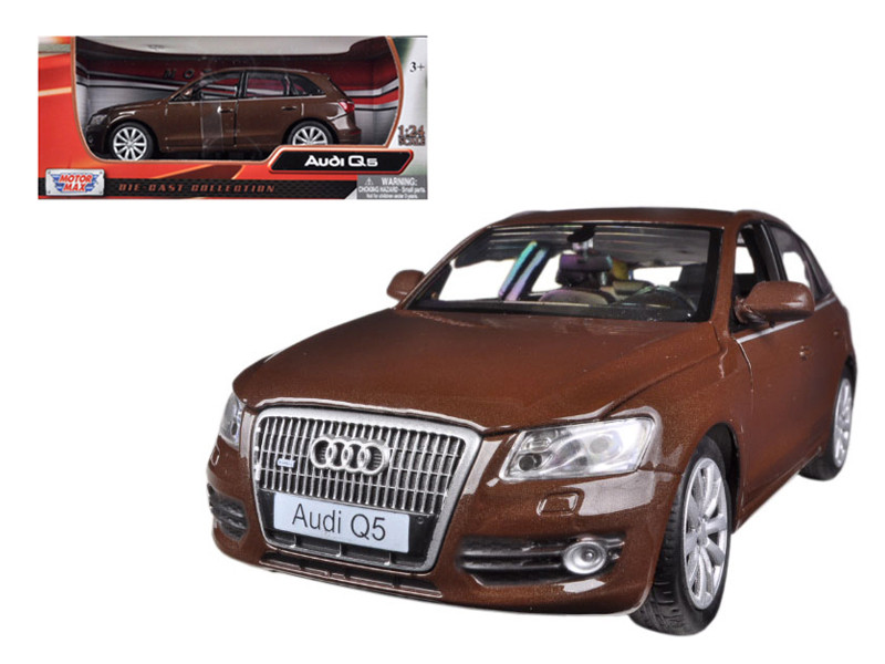 Audi Q5 Brown 1/24 Diecast Car Model Motormax 73385