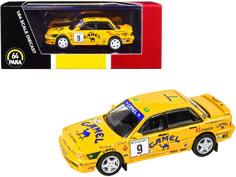 Mitsubishi Galant VR-4 #9 Garcia Ponce Rally El Corte Ingles 1995 1/64 Diecast Model Car Paragon PA-55103
