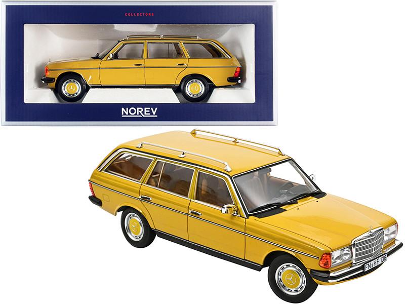 1982 Mercedes Benz 200 T Yellow 1/18 Diecast Model Car Norev 183734