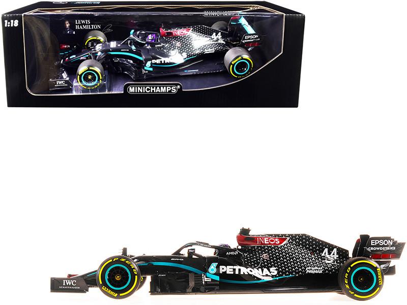Mercedes-AMG F1 W11 EQ Performance #44 Lewis Hamilton Petronas Formula One Team Winner Formula One F1 Styrian Grand Prix 2020 Limited Edition 2174 pieces Worldwide 1/18 Diecast Model Car Minichamps 110200244