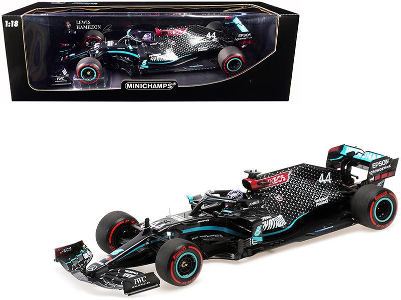 Mercedes-AMG F1 W11 EQ Performance #44 Lewis Hamilton Petronas Formula One Team Winner Formula One F1 Tuscan Grand Prix 2020 Limited Edition 1002 pieces Worldwide 1/18 Diecast Model Car Minichamps 110200944