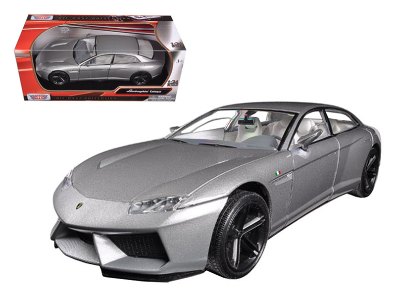 Lamborghini Estoque Grey 1/24 Diecast Model Car Motormax 73366